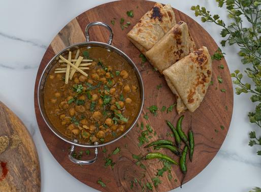 Instant Pot Punjabi Chole (Chickpea Curry)   oil free  
