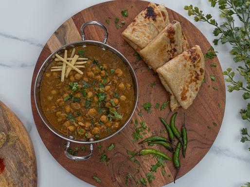 Instant Pot Punjabi Chole (Chickpea Curry) | oil free |