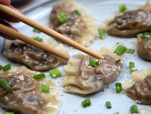 Easy Steamed Vegan Dumplings - NO ADDED OIL