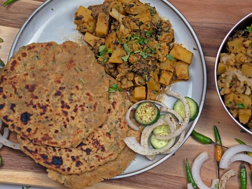 Instant Pot Aloo Gobi (Potato & Cauliflower Curry) - Oil Free