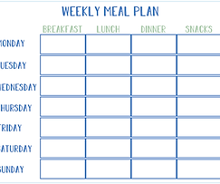 FREE Weeky Planner Printable | Simply Living x The Soulful Cook