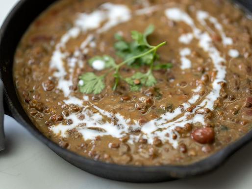 Instant Pot Dal Makhani | Vegan | Oil Free |