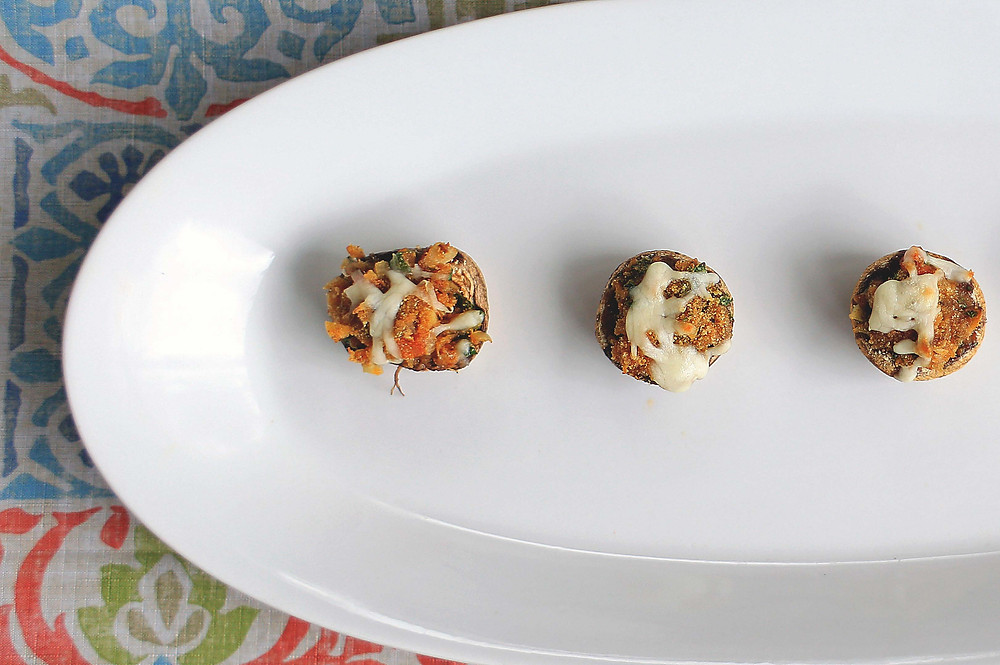 Stuffed Mushrooms in 20 minutes | Simply Living | The Soulful Cook