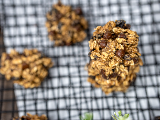 Banana Bread Breakfast Cookies [V, GF, OF, NS, DF]