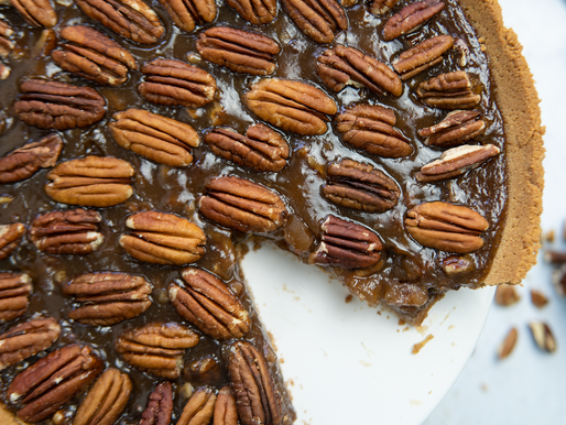 Vegan Pecan Pie - GF | No added refined sugar