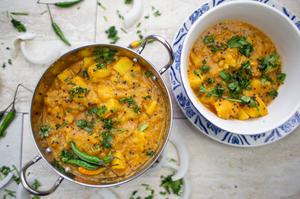 Oil Free Indian Railway Style Potato Curry