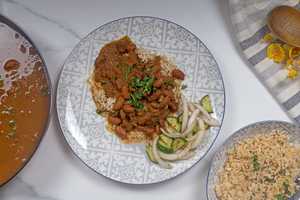 Oil free Rajma | Red Kidney Beans Curry