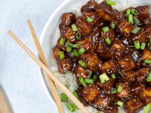 Vegan Takeout - Sesame Tofu | GF