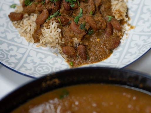 Oil free Rajma | Red Kidney Bean Curry