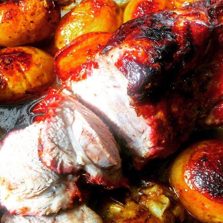Copa-lombo e batatas: simples e delicioso