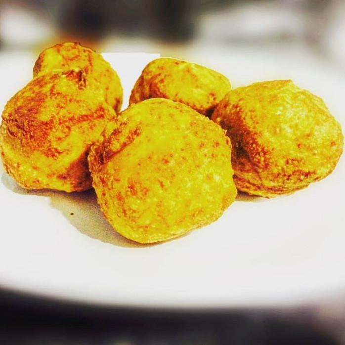 Aprenda a fazer pão de queijo FRITO