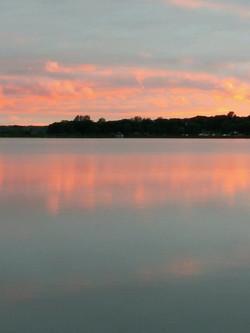 Sunrise on Smith Lake