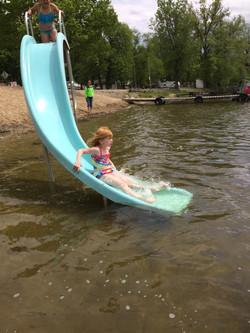 Beach Slide Fun