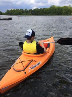 Kayaking fun on Smith Lake