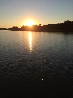 Sun + Lake
