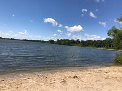 Swimming Beach at Smith Lake Resort
