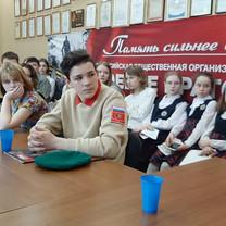 Юнкоры Дмитрова встретились с Героями Российской Федерации