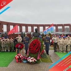 Юнармейцы Мытищ приняли участие в памятных мероприятиях