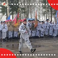 В Шаховской прошла военно-спортивная игра «Сыны России»