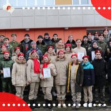 Военно-патриотическая игра «Наследники Победы» прошла в Талдоме