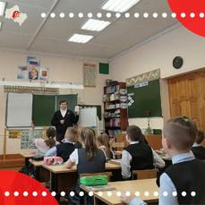 Коломенские учащиеся познакомились с движением «Юнармия»