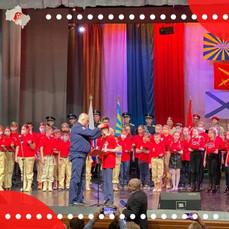 Почти 70 школьников Балашихи вступили в ряды Юнармии