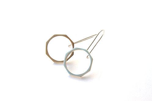 Octagonal Earrings