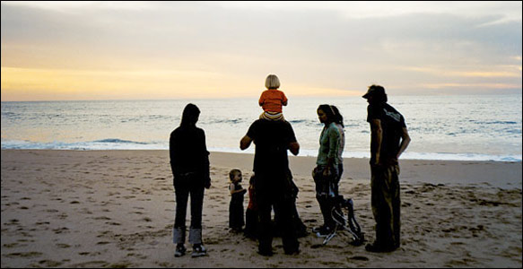 Family On Beach jpg