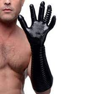 MASTER SERIES EXTREME TEXTURED FISTING GLOVE