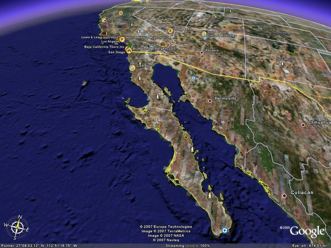 Google baja Map Camalu