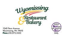 Wyomissing Restaurant - new logo 2018.jp