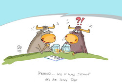 kreslený vtip pivo