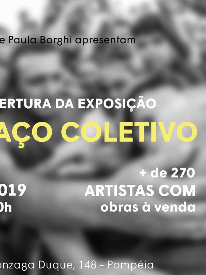 Abraço Coletivo - Curadoria: Paula Borghi