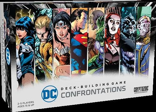 DC Deck Building Confrontations