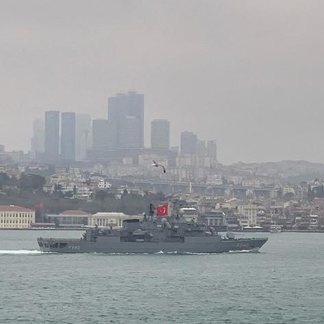 TCG Yavuz F240 - 31.03.2020