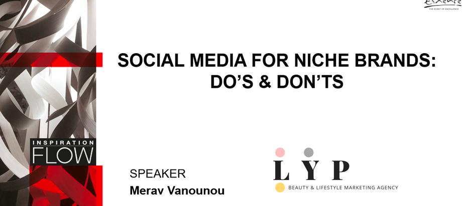 Social Media For Niche Brand's Do & Don'ts