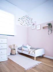 עיצוב חדר ילדה