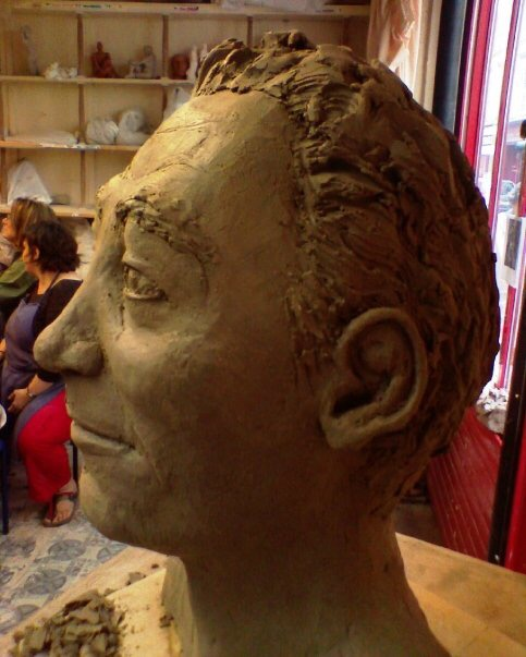 Vincent profil gauche