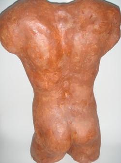 Buste d'homme dos