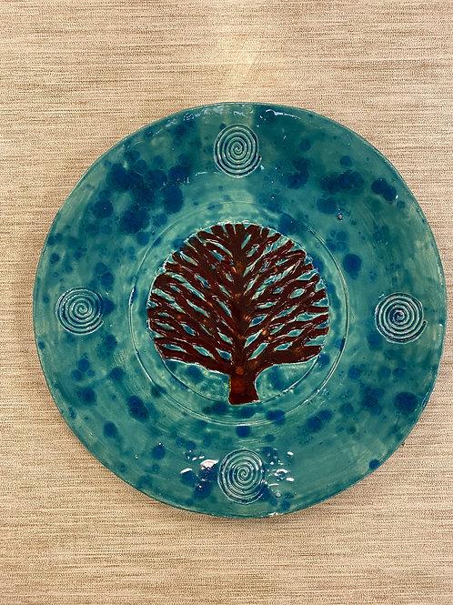 Assiette arbre de vie