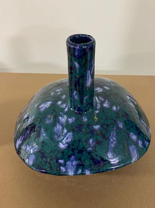 Vase parasol bleu vert