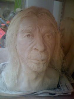 Néanderthal face