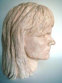 Auto-portrait profil droit