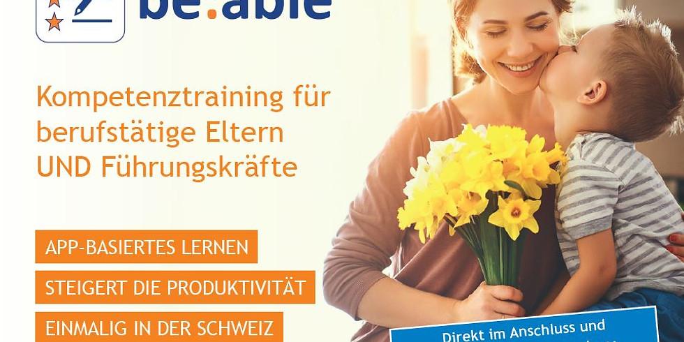 be:able Einführungsseminar Zürich