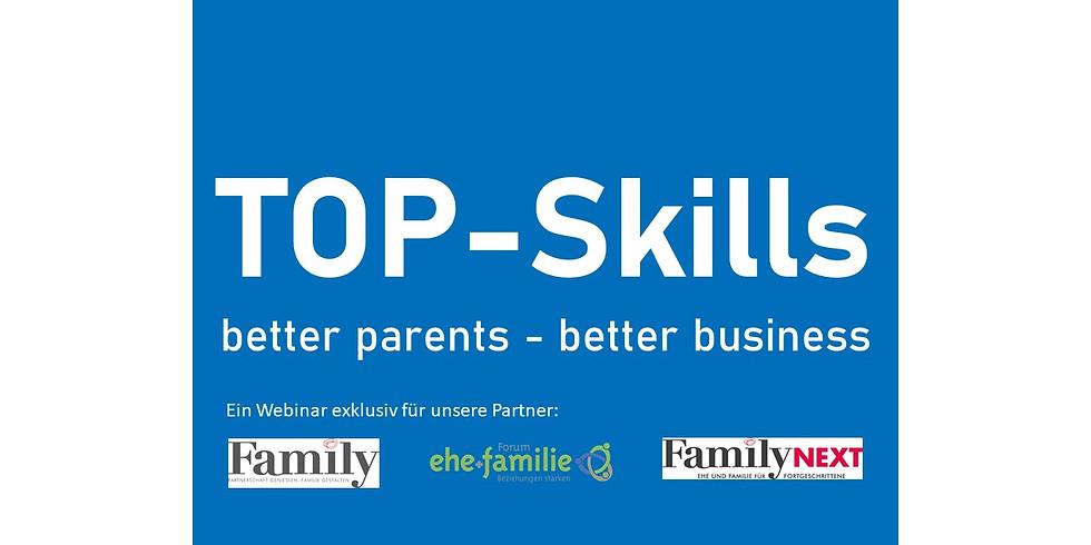 TOP-Skills Webinar exklusiv für Eltern