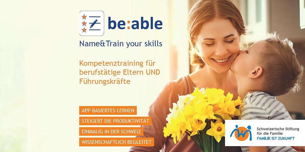 be:able Einführungsseminar Baar