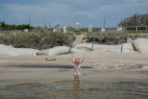 Salvo Community Cemetery Threatened by Erosion and Sea Level Rise