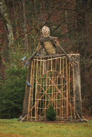 Environmental installation sculpture