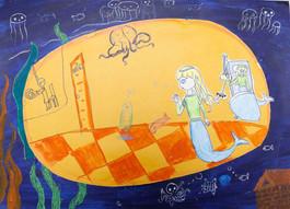 《美人鱼与潜水艇》Mermaid and submarines