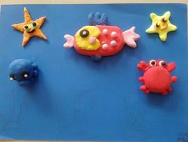 可爱的海洋生物 Cute sea creatures